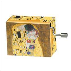 Zenedoboz Fridolin Gustav Klimt ´A csók´ 2