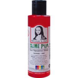 Kreatív ragasztó Mona Lisa Slime 70 ml, piros