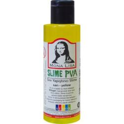 Kreatív ragasztó Mona Lisa Slime 70 ml, sárga
