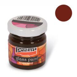 Kreatív üvegfesték Pentart 30 ml barna