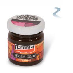 Kreatív üvegfesték kontúr Pentart 20 ml ólom