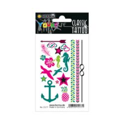 Tetováló matrica Herma Nyár színes