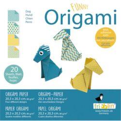 Origami Fridolin Funny Kutya 20x20 cm 20 lap/csomag