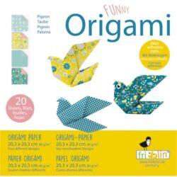 Origami Fridolin Funny Galamb 20x20 cm 20 lap/csomag