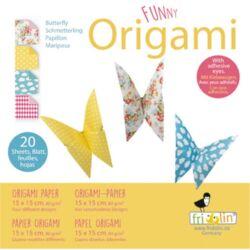 Origami Fridolin Funny Pillangó 15x15 cm 20 lap/csomag