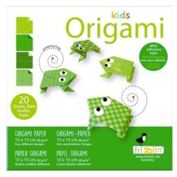 Origami Fridolin Kids Béka 15x15 cm 20 lap/csomag