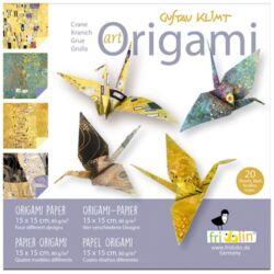 Origami Fridolin Art Klimt 15x15 cm 20 lap/csomag