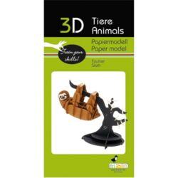 3D papírmodell Fridolin Lajhár