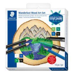 Művészeti kreatív szett Staedtler Design Journey Kalandvágy fakorong