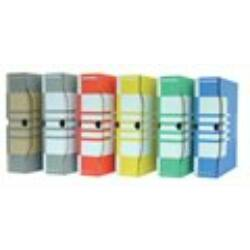 Archiválódoboz, A4, 80 mm, karton, DONAU, piros