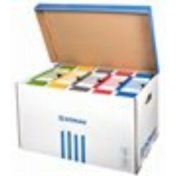 Archiválókonténer, felfelé nyíló, DONAU, kék