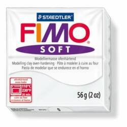 "Gyurma, 57 g, égethető, FIMO ""Soft"", fehér"
