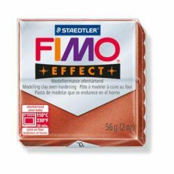 """Gyurma, 57 g, égethető, FIMO """"Effect"""", metál vörösréz"""
