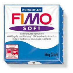 "Gyurma, 57 g, égethető, FIMO ""Soft"", óceán kék"