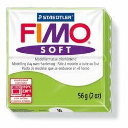 "Gyurma, 57 g, égethető, FIMO ""Soft"", alma zöld"