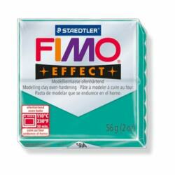 """Gyurma, 57 g, égethető, FIMO """"Effect"""", áttetsző zöld"""