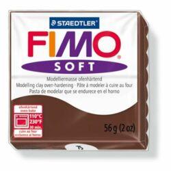 """Gyurma, 57 g, égethető, FIMO """"Soft"""", csokoládé"""