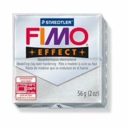 """Gyurma, 57 g, égethető, FIMO """"Effect"""", ezüst"""