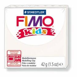 "Gyurma, 42 g, égethető, FIMO ""Kids"", fehér"