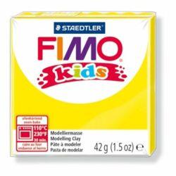 "Gyurma, 42 g, égethető, FIMO ""Kids"", sárga"