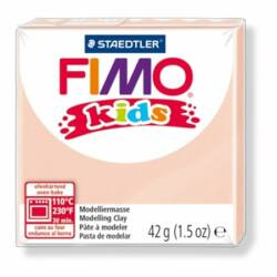 "Gyurma, 42 g, égethető, FIMO ""Kids"", bőrszín"