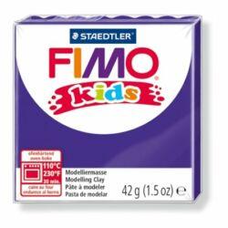 """Gyurma, 42 g, égethető, FIMO """"Kids"""", lila"""
