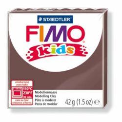"Gyurma, 42 g, égethető, FIMO ""Kids"", barna"