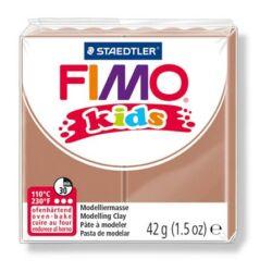 "Gyurma, 42 g, égethető, FIMO ""Kids"", világosbarna"