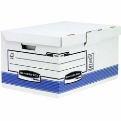 """Csapófedeles archiválókonténer, """"BANKERS BOX®  SYSTEM BY FELLOWES® """", kék"""