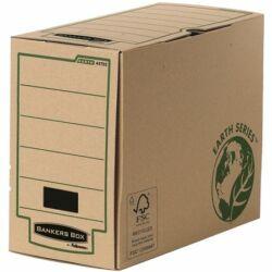 "Archiválódoboz, 150 mm, ""BANKERS BOX® EARTH SERIES by FELLOWES®"", barna"