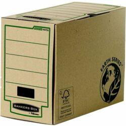 "Archiválódoboz, 200 mm, ""BANKERS BOX® EARTH SERIES by FELLOWES®"", barna"
