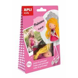 Bábukészítő készlet, APLI,hercegnő